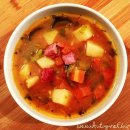 goulash soup of the day - gulaszowa zupa dnia